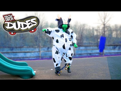 Tech Deck Dudes In Real Life! The Most Ridiculous Skateboarding Toy for Kids