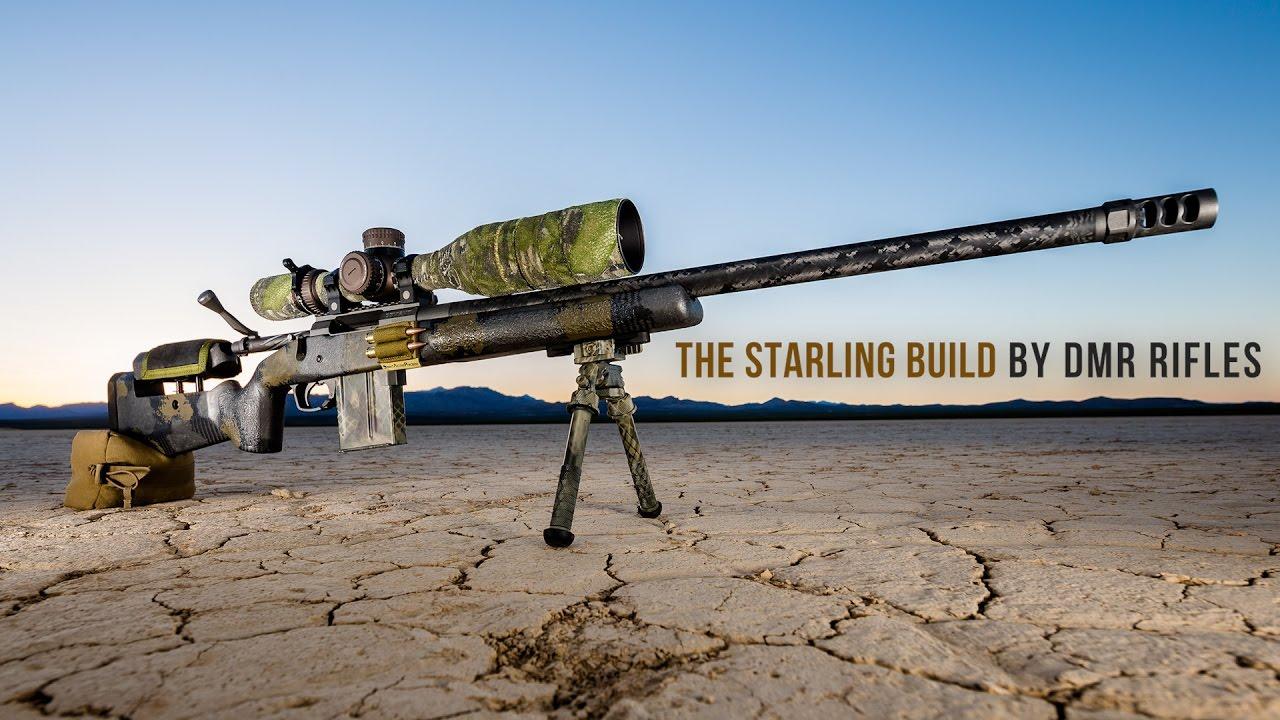 dmr rifles starling build carbon fiber 6 5 creedmoor youtube