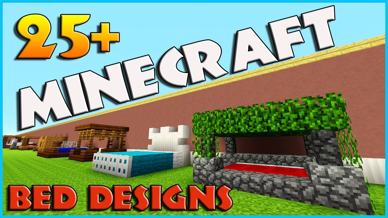 25   Bed Designs And Ideas Minecraft