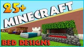 Today i am showing you 25 and more bed designs in minecraft, bunk beds, modern beds, royal beds, medieval beds, just BEDS!!