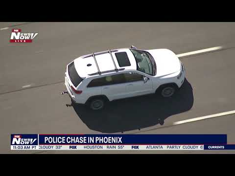 FULL POLICE CHASE: Man Wanted By U.S. Marshals Arrested Following AZDPS Pursuit