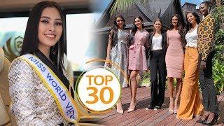 TỰ HÀO VIỆT NAM: Hoa hậu Trần Tiểu Vy CHÍNH THỨC dành vé vào TOP 30 chung kết HH Thế giới 2018???