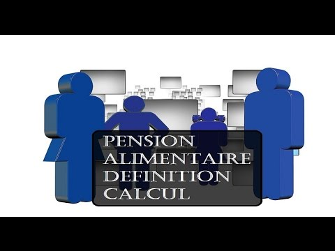 Pension Alimentaire Definition Et Calcul Youtube