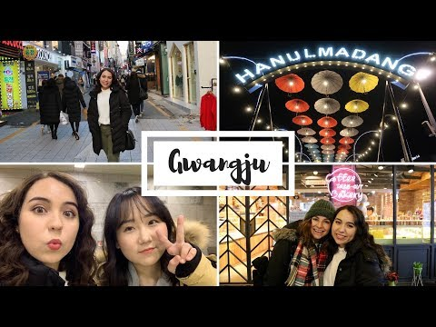 Exploring Downtown Gwangju || Food, Shopping and Cafes 🇰🇷