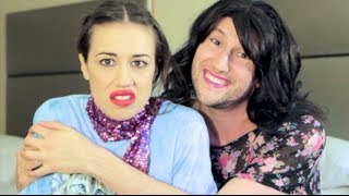 THE BLANK OFF CHALLENGE ft. Miranda Sings