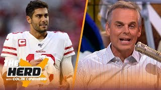 Jimmy G is a franchise QB, Saints should acquire Josh Gordon if he's available | NFL | THE HERD