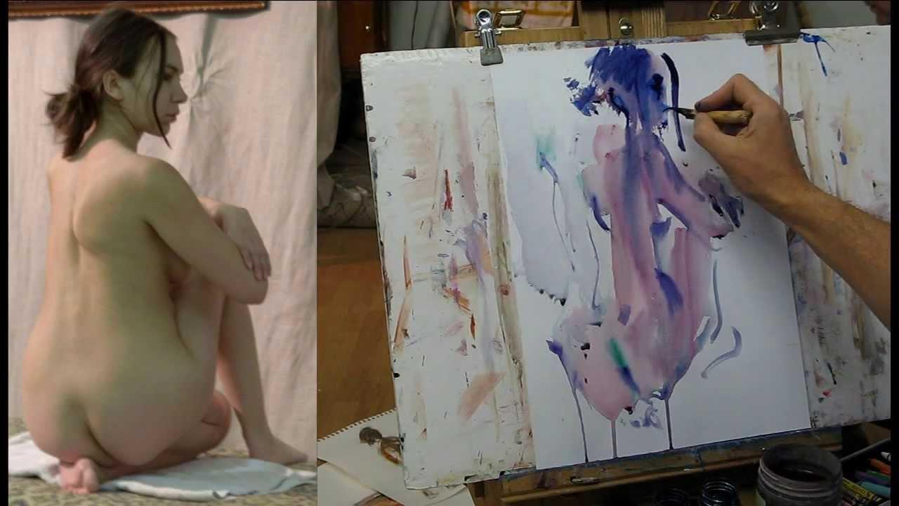 Художницы рисуют голого парня с натуры, как признаться что ношу колготки