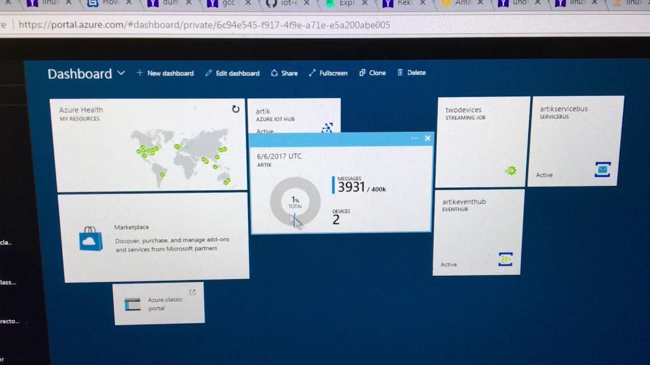 Samsung ARTIK and Microsoft Azure IoT Edge SDK