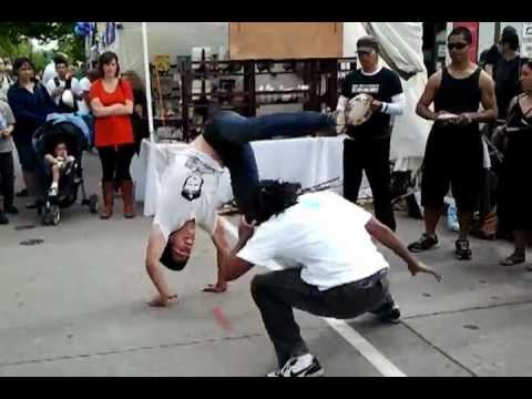Capoeira Udistrict Seattle Street Fair 2012