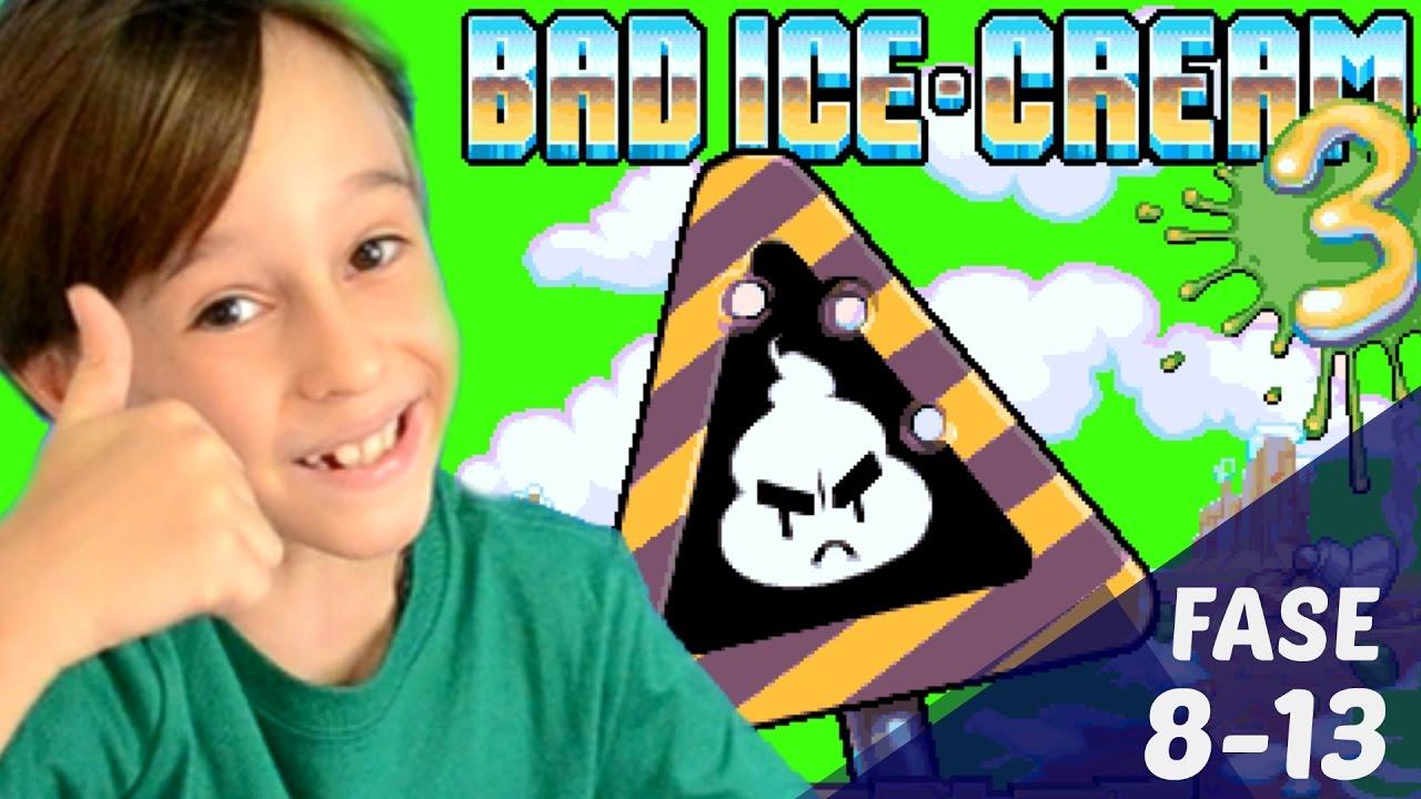 Jogo Do Sorvete 3 Bad Ice Cream 8 13 Jogando Em Familia Youtube