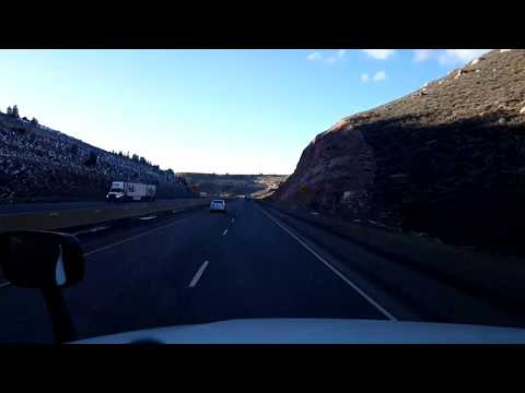 BigRigTravels LIVE! near Laramie to Sinclair, Wyoming Interstate 80 West-Feb. 13, 2018