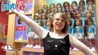 IndigoKids American Girl Doll Specialty Boutique Shopping Spa Day!
