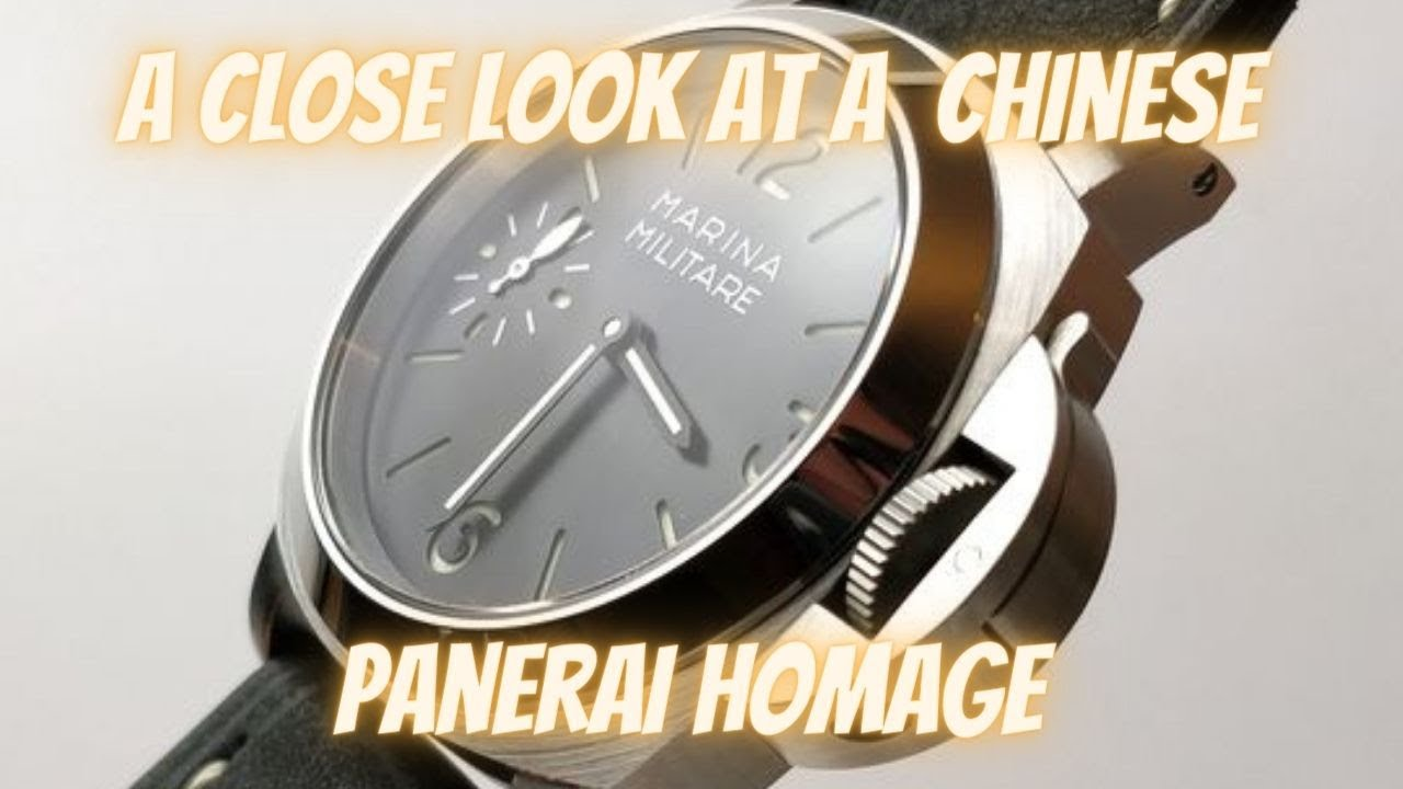 Youtube Marina Look - Chinese A Homage At Panerai Luminor The Close Militare