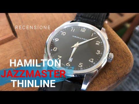 Recensione Hamilton Jazzmaster Thinline H38511733 - Orologio Hamilton Swiss Made - Un classico