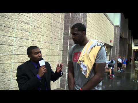 Miami Heat C Greg Oden Interview with Mr.Taliaferro