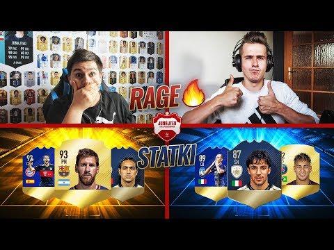 NAJSZYBSZE STATKI W HISTORII?! RAAAAGE! vs Adryan   FIFA 18