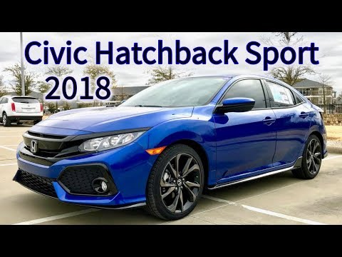 Start Up & Review | Honda Civic Hatchback Sport 2018 Review