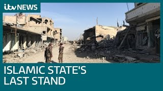 The final frontline battles against Islamic State in Syria | ITV News
