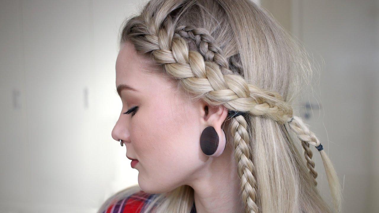 Lagertha Inspired Hair Look Sorry Lagertha Youtube