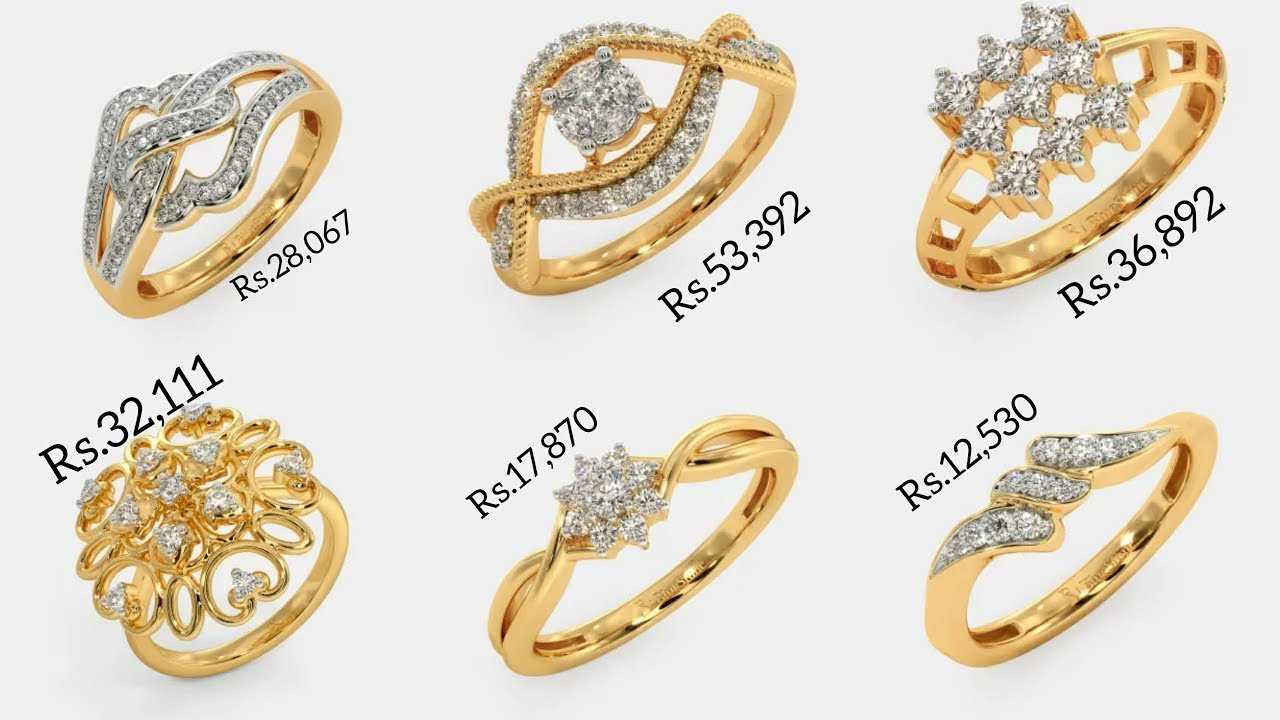Download Latest Diamond Rings Designs with PRICE