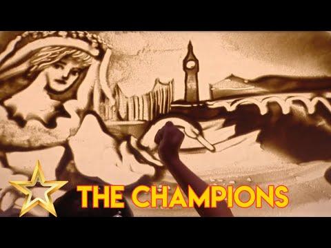 Kseniya Simonova: Ukrainian Sand Artist Leaves Simon Speechless! Britain's Got Talent The Champions