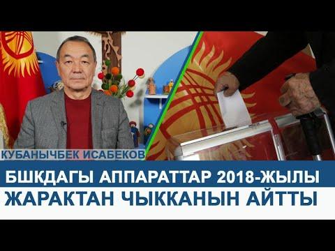 Кубанычбек Исабеков бийликти сындап, БШКдагы аппараттар 2018 жылы жарактан чыкканын айтты.