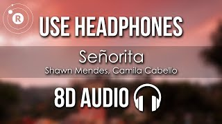 Download Mp3 Shawn Mendes, Camila Cabello - Señorita  8d Audio