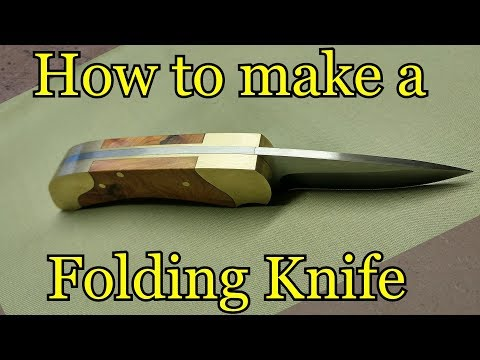 photo relating to Printable Knife Templates referred to as How toward produce a folding knife Template - YouTube
