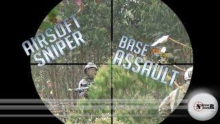 Airsoft Sniper - Base Assault - Tokyo Marui G-Spec  \ VFC HK-416