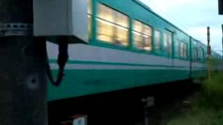 携帯で撮りました。 撮影場所・大和新庄駅付近の踏切です 塾帰りです.