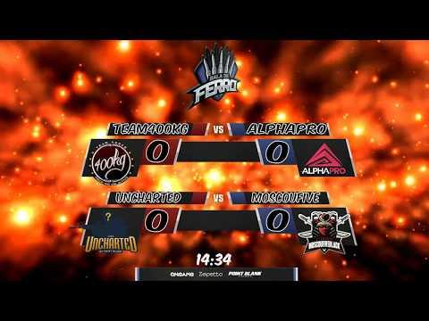 Liga Bala de Ferro | Team 400kg X Alpha Pro Pink | Uncharted X MoscouFive Black