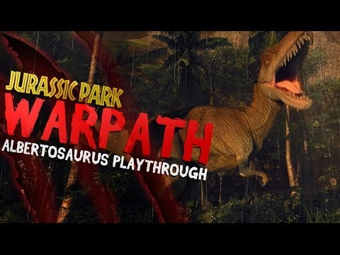 Jurassic Park: Warpath | Albertosaurus Arcade Playthrough