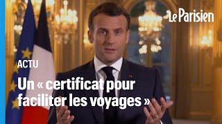 Covid-19 : Emmanuel Macron confirme une levée progressive des restrictions en mai