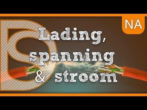 Examen natuurkunde - Lading, spanning & stroom (Elektriciteit)
