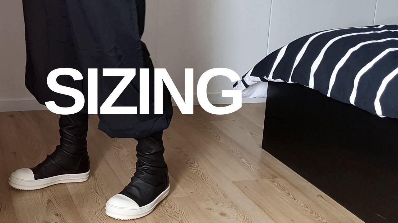 Rick Owens: Mainline Leather Sock