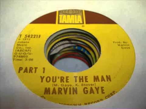 Marvin Gaye - You're The Man ( Unreleased Extended Mix )