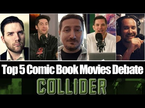 Top 5 Comic Book Movies Debate With Guest Chris Stuckmann -