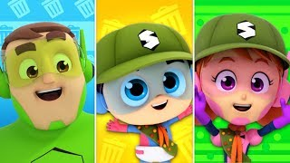 Planet song | Cleanliness song | Super Supremes | Nursery rhymes | Kids songs | Children videos