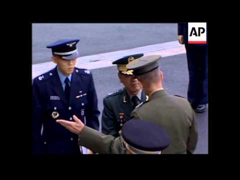 Chairman Of Joint Chiefs Of Staff Welcomes SKorean Defence Chief