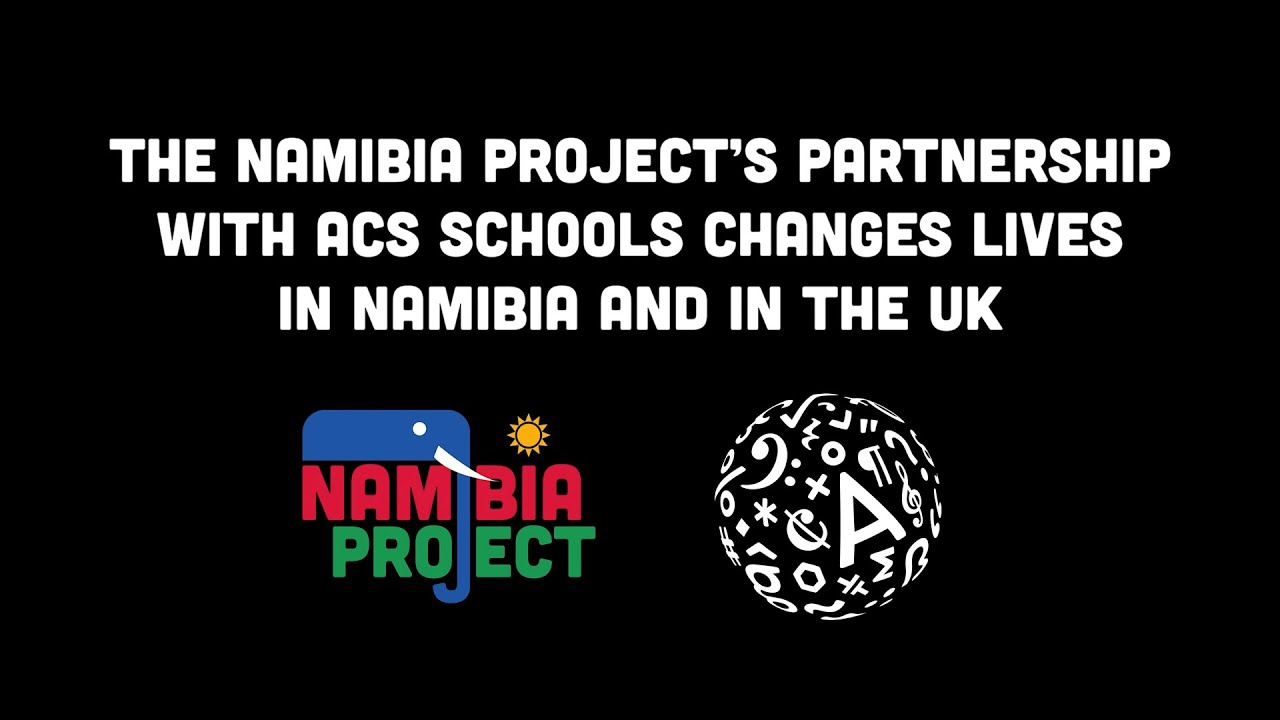 THE ACS PARTNERSHIP AND FUTURE PLANS OF THE NAMIBIA PROJECT