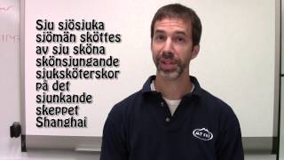 swedish word of the day 2 tongue twister