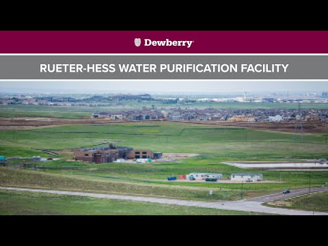 Rueter-Hess Water Purification Facility: Sustaining A Community's Water Supply