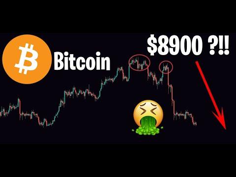 ÉNORME DUMP DU BITCOIN !! DIRECTION $8900 ?!! - Analyse Crypto Altcoin ETH XRP LINK DASH XLM - 20/02