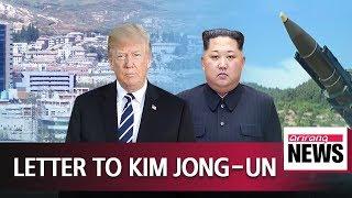 President Trump sent letter to North Korean leader over the weekend: CNN