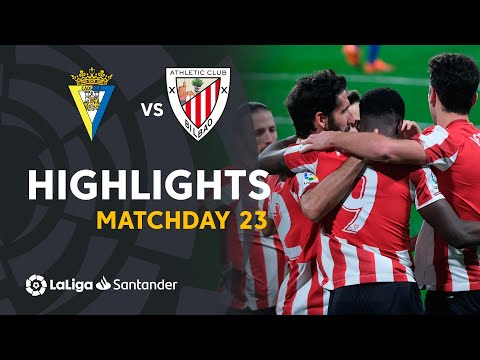 Cadiz Ath. Bilbao Goals And Highlights