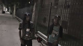 CHICAGO MOST VIOLENT GANG AREA AT NIGHT/ HOOD INTERVIEW