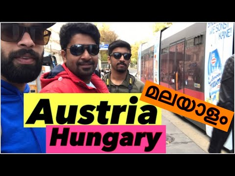 EP 11 - Exploring Vienna City, Austria  public transport   Malayalam Travel Series   Europe Trip