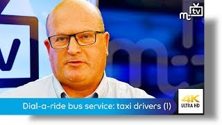 Dial-a-ride bus service: taxi drivers (1)