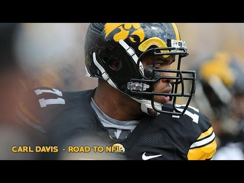 Carl Davis - Road to NFL