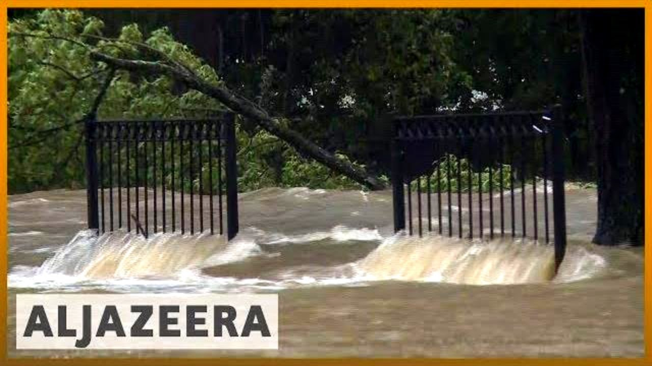 🇺🇸 Florence downgraded to tropical depression, still poses threat l Al Jazeera English